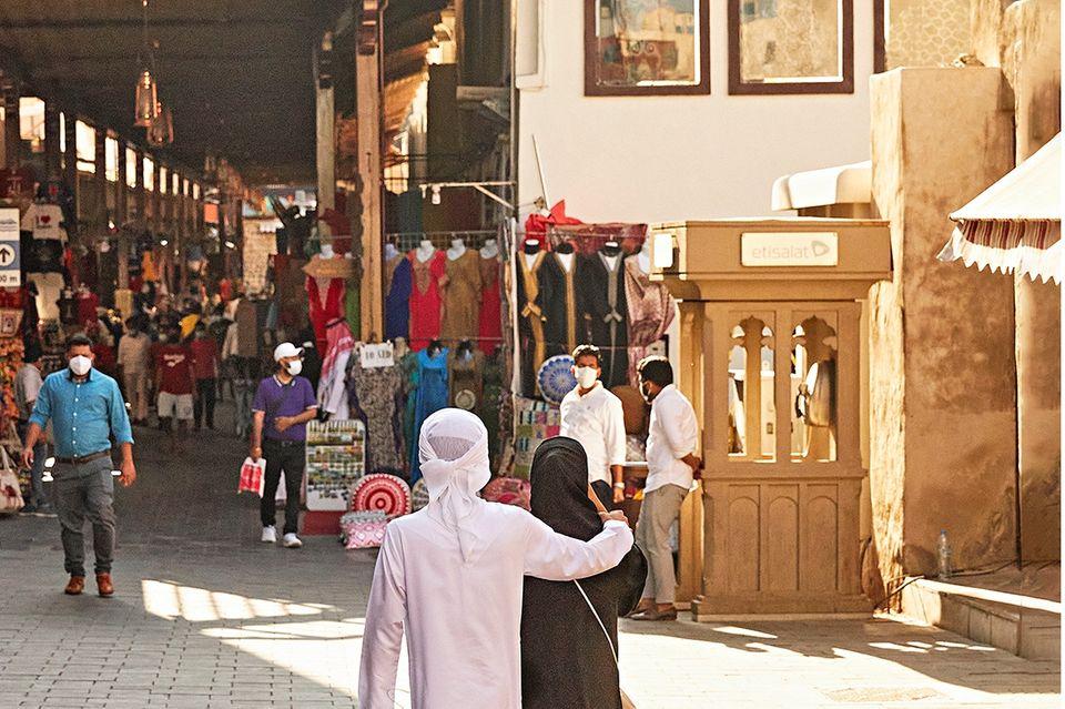 Dubai: Altstadt in Dubai