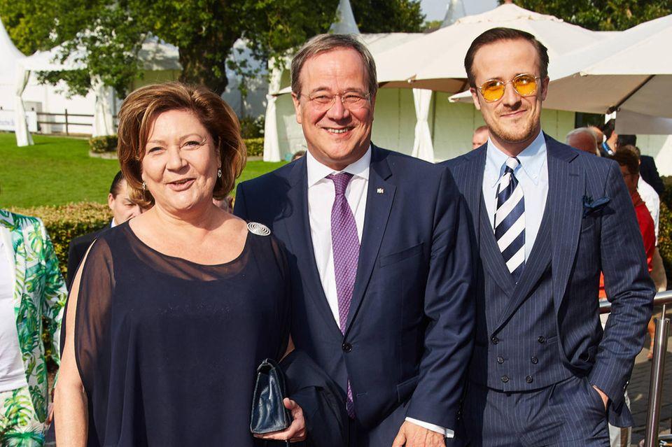 Susanne Laschet, Armin Laschet und Sohn Johannes Laschet