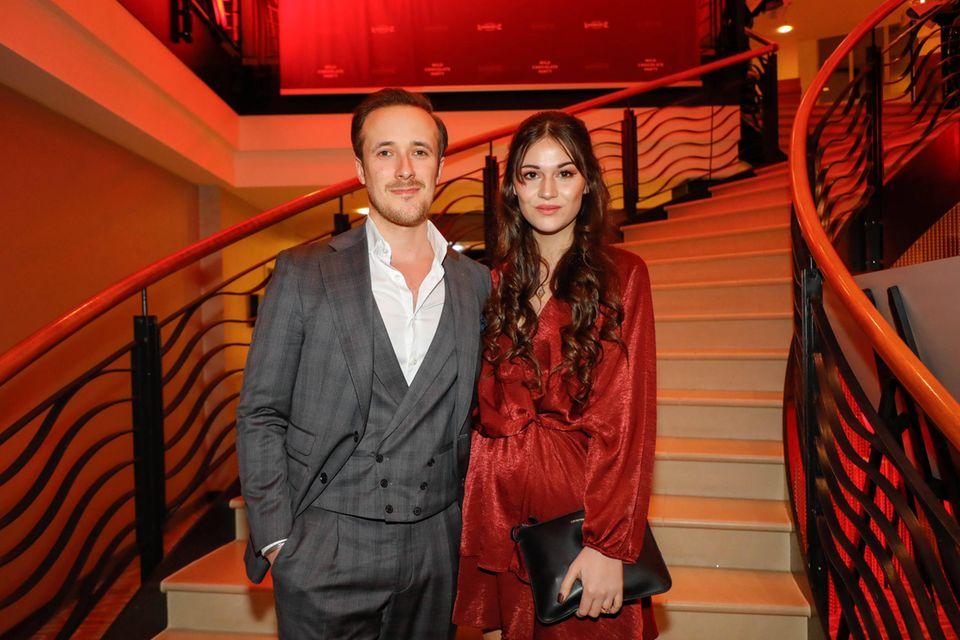 Johannes (Joe) Lascht und Freundin Andrea Böhringer