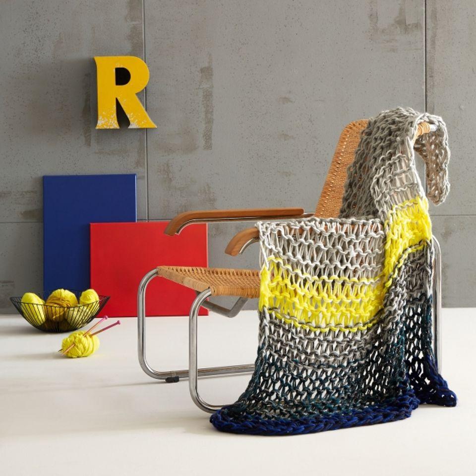 Zum Einkuscheln: Wolldecke