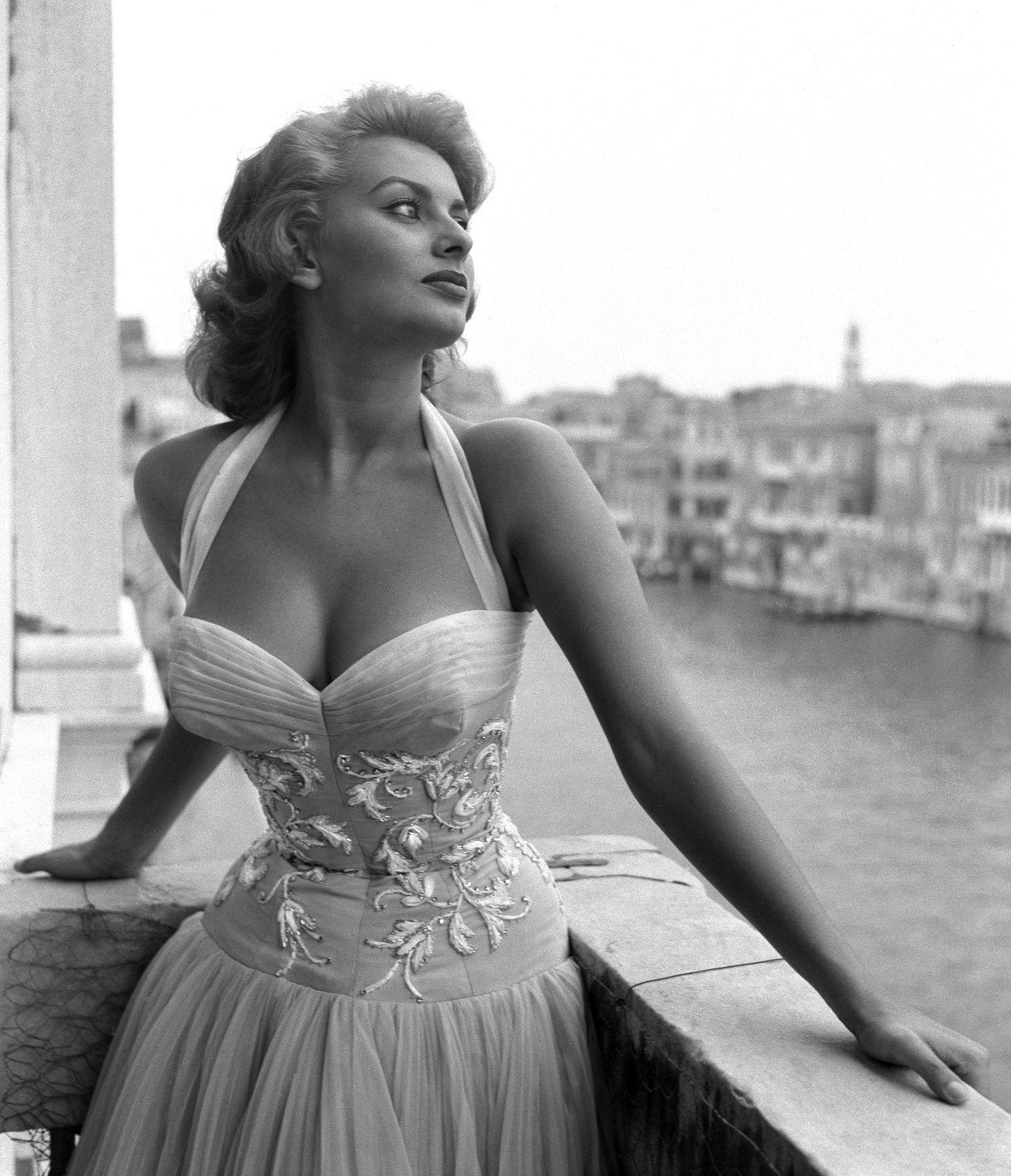 Was Marilyn kann, kann Sophia Loren schon lange