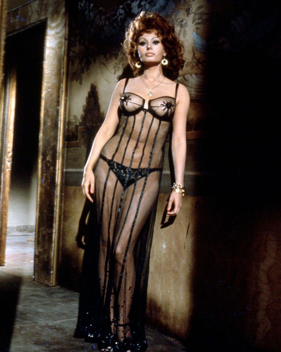 Gewagt, gewagter, Sophia Loren