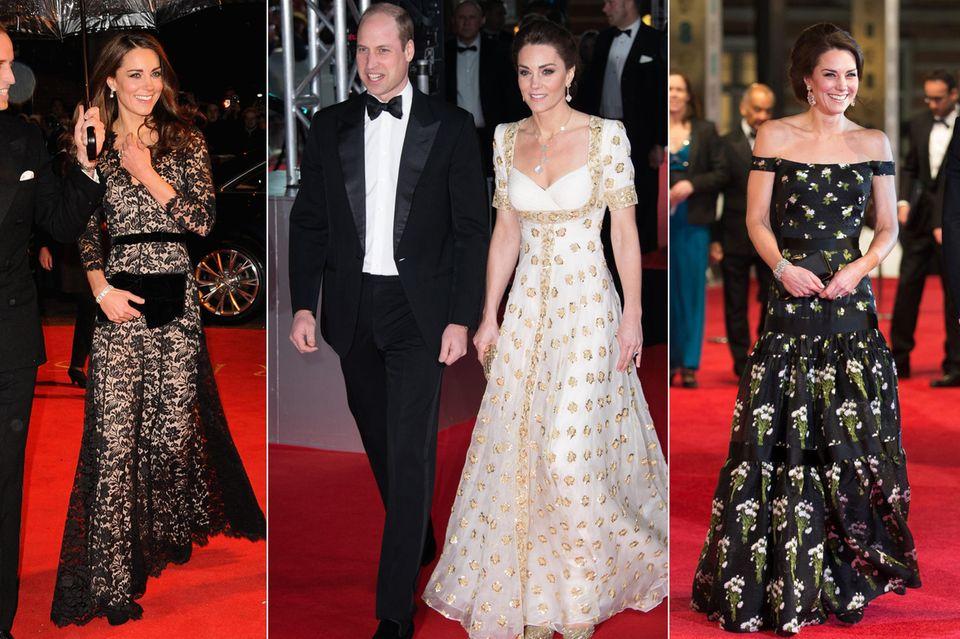 Diese Red-Carpet-Looks von Herzogin Catherine waren Volltreffer.