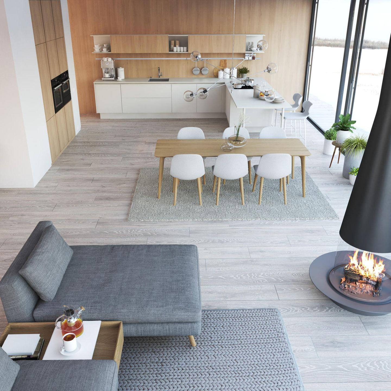 Wohntrend: Nordic Clean Wohnzimmer
