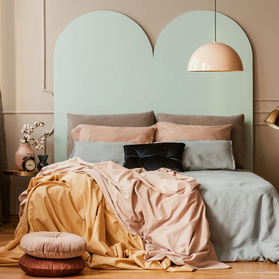 Wohntrend Dark Pastell: Schlafzimmer