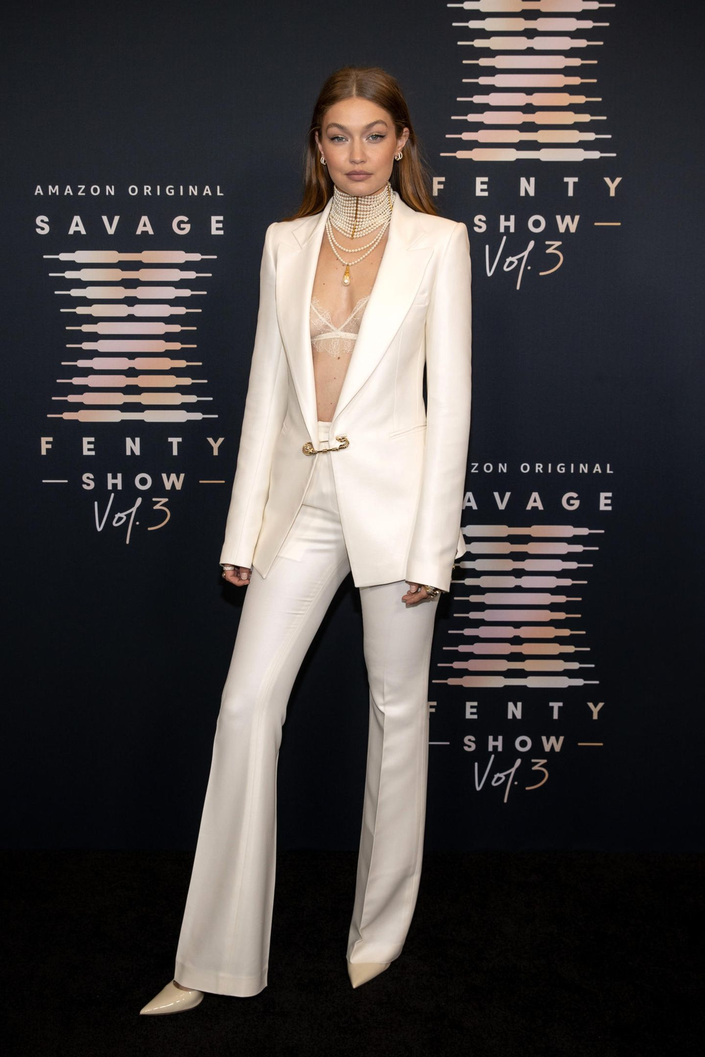 Gigi Hadid besucht Rihannas Lingerie-Event