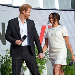 Herzogin Meghan und Prinz Harry in New York