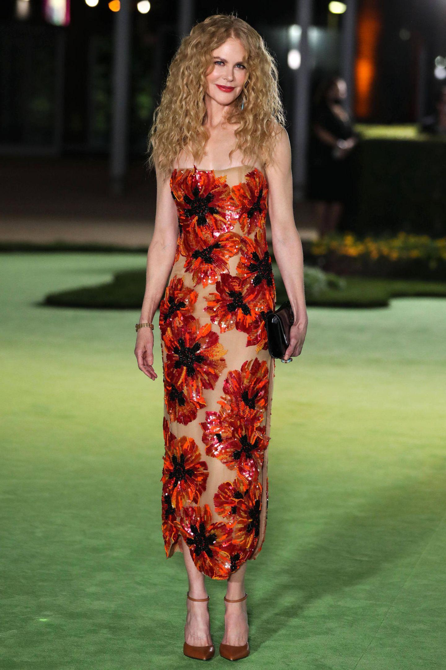 Nicole Kidman besucht die Eröffnungsgala des Academy Museums of Motion Pictures