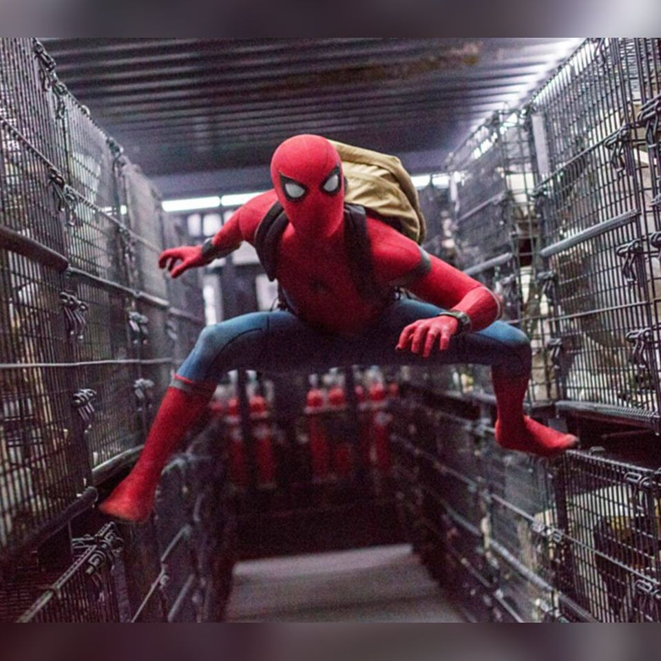 """Tom Holland in """"Spider-Man: Homecoming""""."""