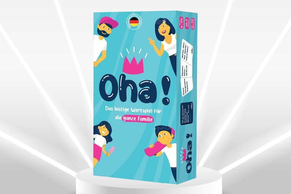 Gewinnspiel: Lachtränen am Küchentisch: Oha! – das Partyspiel für die ganze Familie