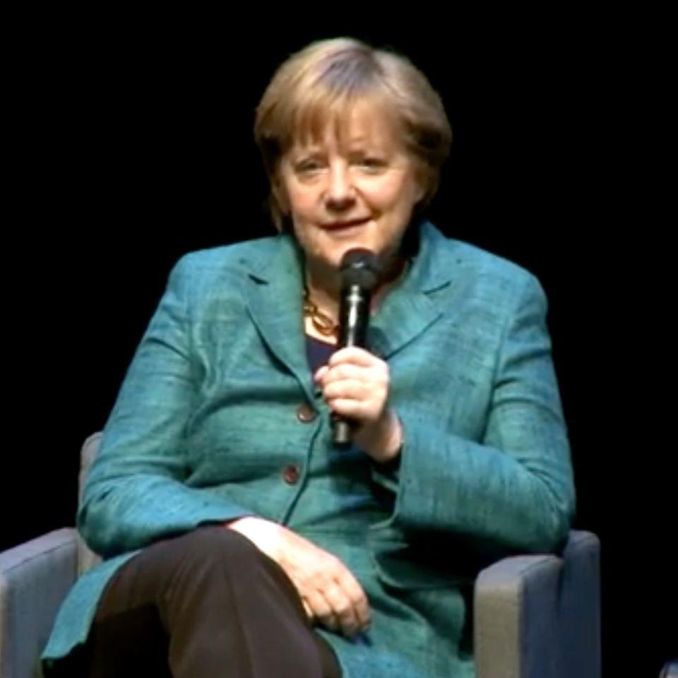 Angela Merkel im BRIGITTE-Talk