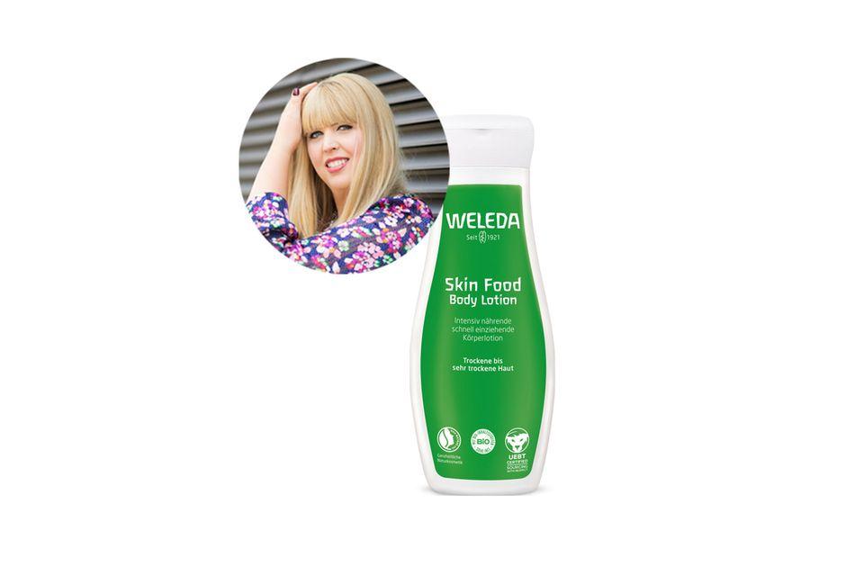 Vor allem an den Beinen hat Nane, Head of Beauty, manchmal mit trockener Haut zu kämpfen. Die grüne Lösung hat sie nun parat!