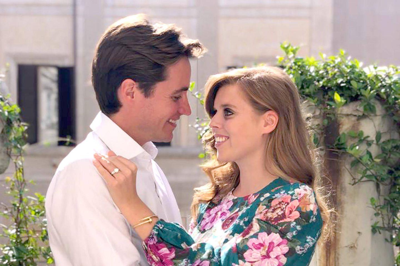Edoardo Mapelli Mozzi und Prinzessin Beatrice