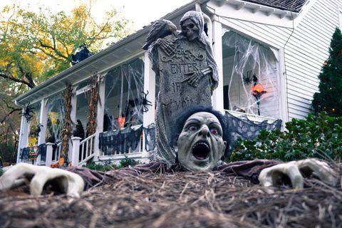 Haus an Halloween