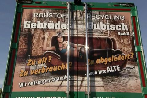 Werberat rügt sexistische Werbung