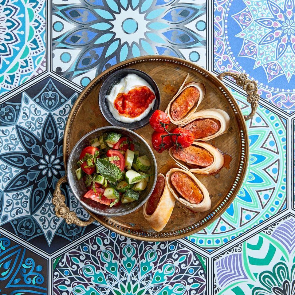 Lammhack im Teigmantel: Türkische Küche gekocht von Frank Mutters