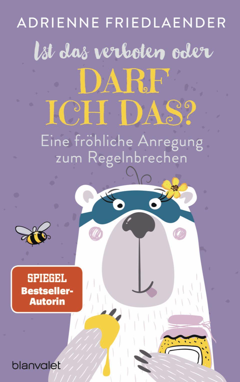 Adrienne Friedländer: Buchcover