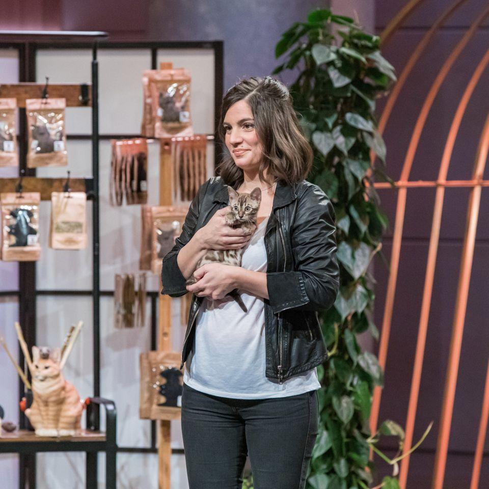 Catlabs Katzenspielzeug: Gründerin Katharina Bickel