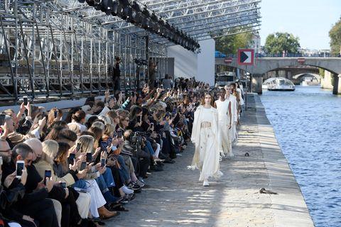 Models beim Finale von Chloé.