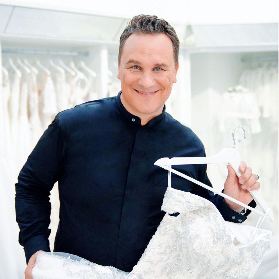 Guidos Wedding Race: Guido Maria Kretschmer mit Brautkleid