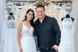 Guidos Wedding Race: Brautkleid von Maria