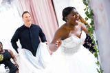 Guidos Wedding Race: Anita freut sich