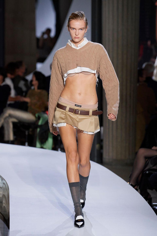 MiuMiu Show S/S 2022, Paris Fashion Week