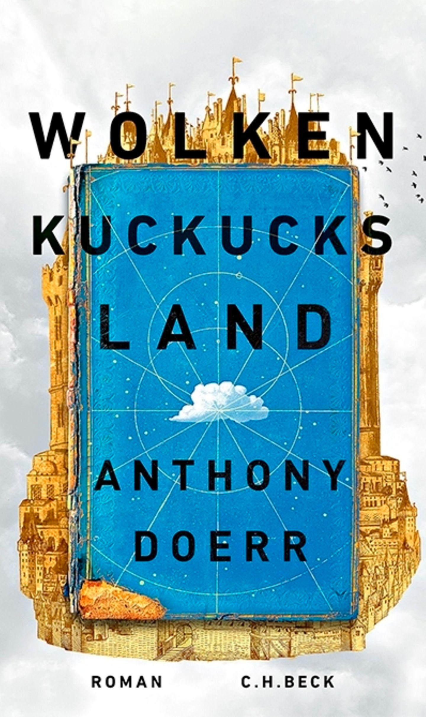"""Buchtipps der Redaktion: Buchcover """"Wolkenkuckucksland"""""""