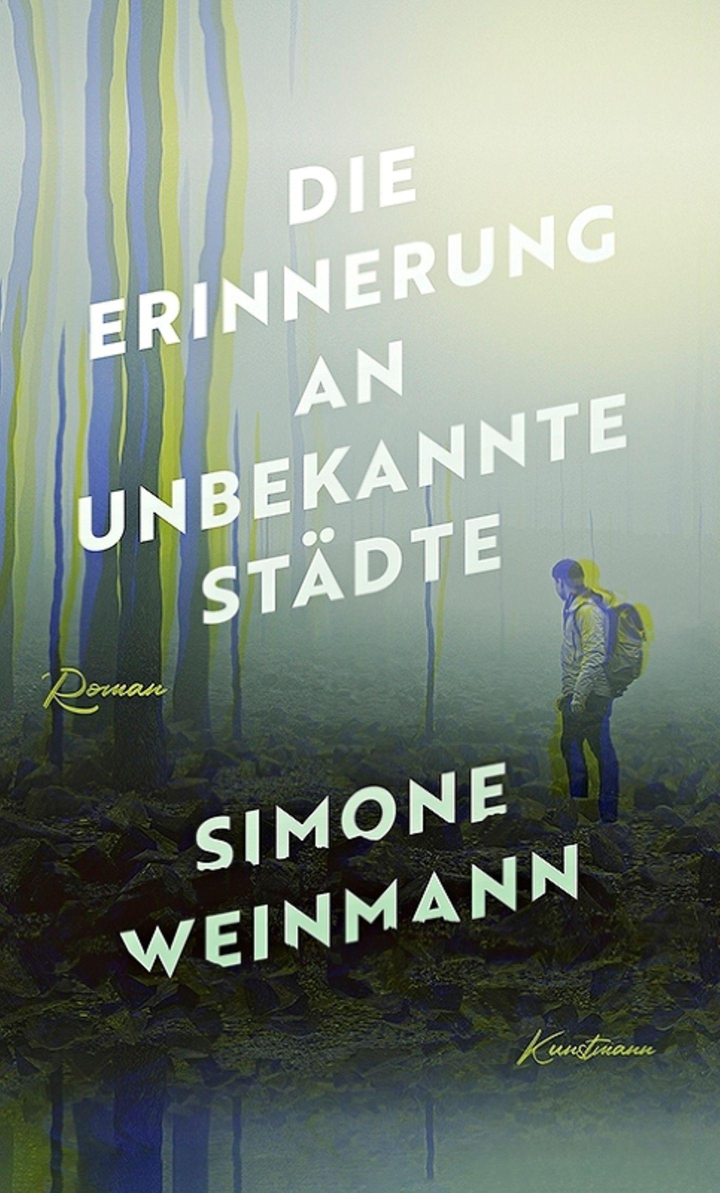 """Buchtipps der Redaktion: Buchcover """"Die Erinnerung an unbekannte Städte"""""""