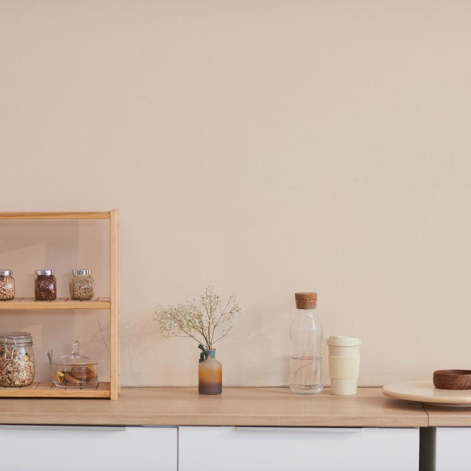 Minimalismus Tipps: Eine minimalistische Küche