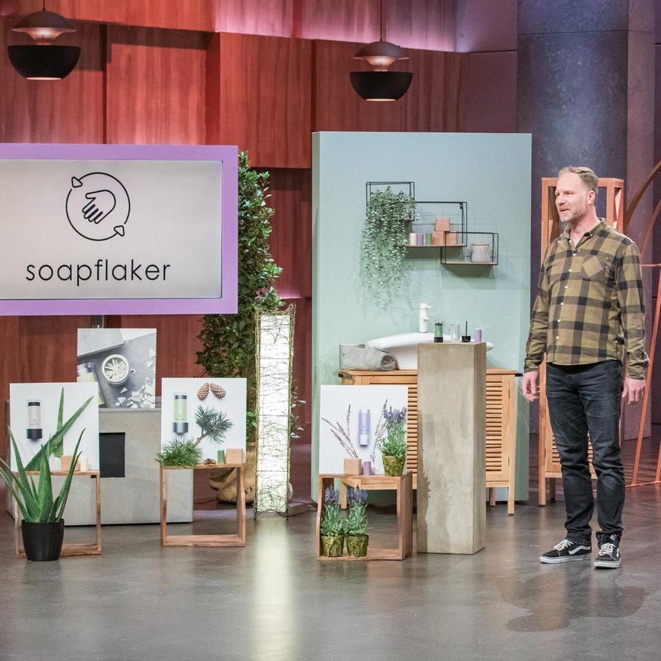 Soapflaker Gründer Stefan Hinüber
