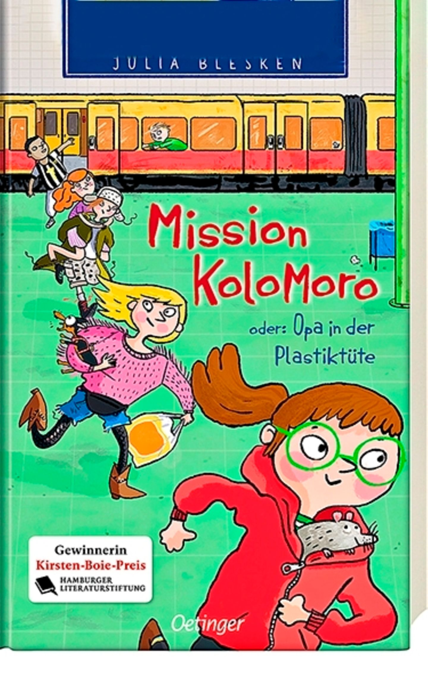 """Buchtipps der Redaktion: Buchcover """"Mission Kolomoro"""""""