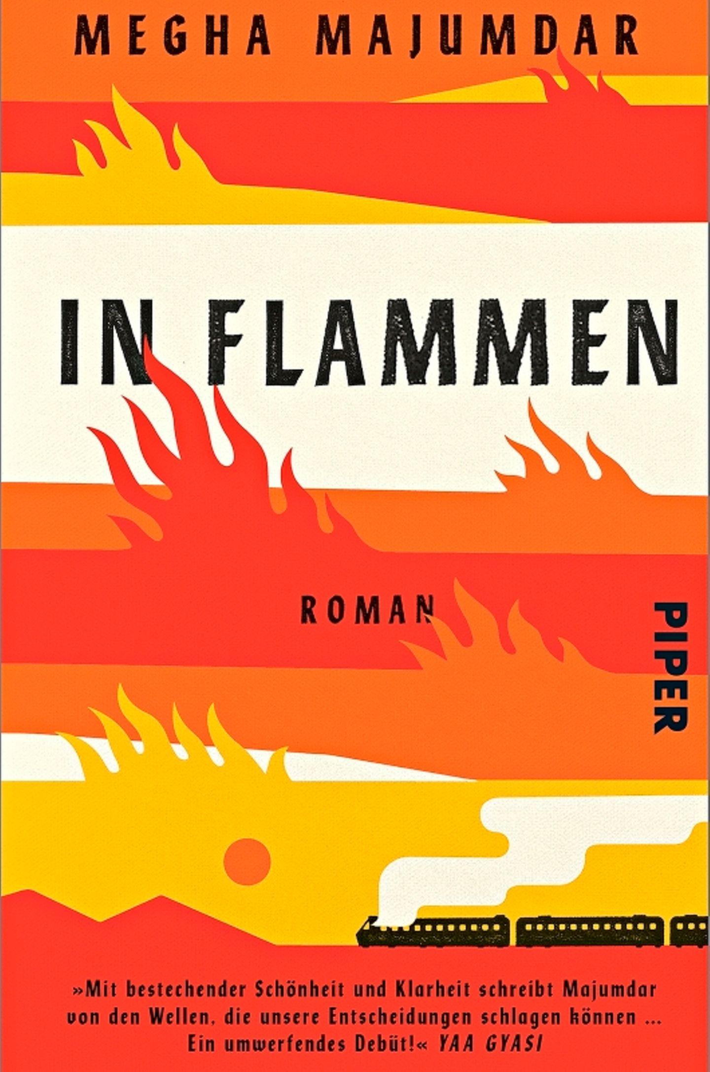"""Buchtipps der Redaktion: Buchcover """"In Flammen"""""""