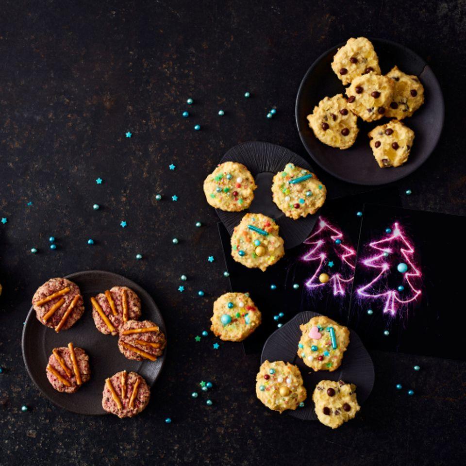 Ein-Teig-drei-Sorten-Cookies