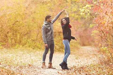 Beziehung: Ein tanzendes Paar
