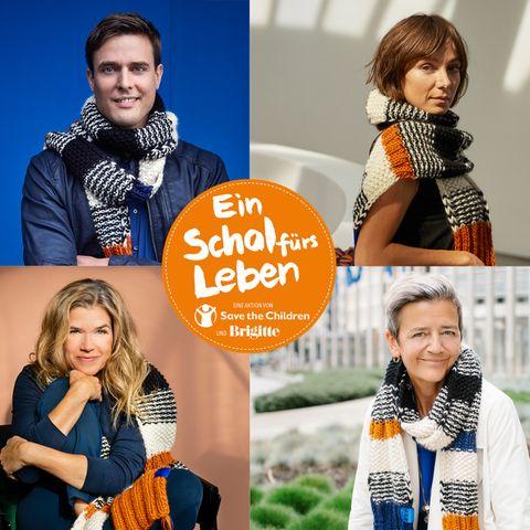 Schal fürs Leben 2021: Diese Promis machen mit