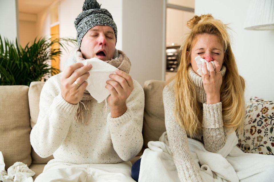 Duschtrick bei Erkältungen