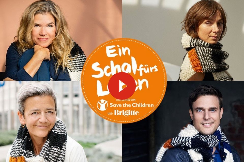 """Berührendes Video: Warum der """"Schal fürs Leben"""" für die Kinder so wichtig ist"""