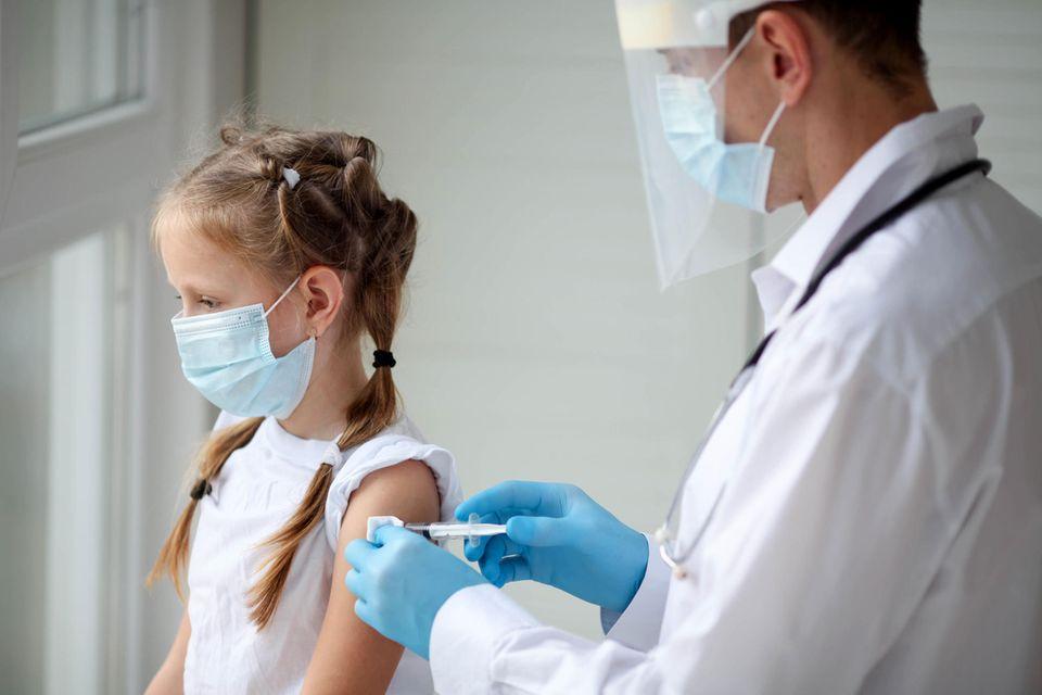 Corona-Impfung: US-Impfausschuss empfiehlt Biontech-Impfung für Kinder ab fünf Jahren