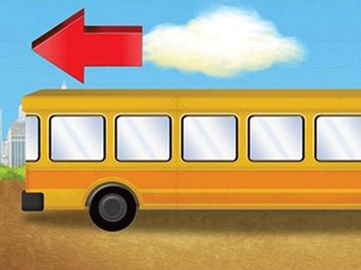 Die meisten Kinder können dieses Bus-Rätsel lösen - und ihr?